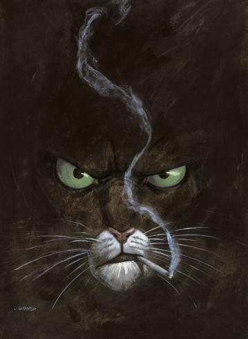 Affiche Blacksad Guarnido