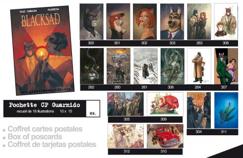 Carte postale Blacksad Guarnido