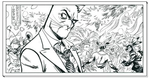 portfolio Blacksad Guarnido